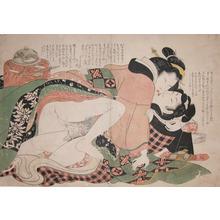 Kikugawa Eizan: A Warm Embrace - Ronin Gallery