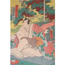 Utagawa Kunisada II: Kabuki Actor Bando Hikosaburo - Ronin Gallery