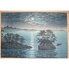 川瀬巴水: Twin Islands at Matsushima - Ronin Gallery