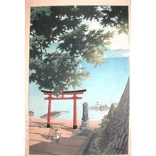 Kawase Hasui: Utagahama at Chuzenji Temple - Ronin Gallery