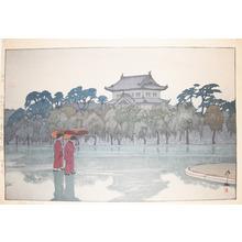 吉田博: Edo Castle - Ronin Gallery