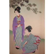 Shuntei: Two Beautiful Women - Ronin Gallery