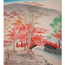 Tokuriki: Autumn Color of Takao - Ronin Gallery