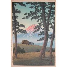川瀬巴水: Evening at Tagonoura - Ronin Gallery