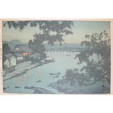 Yoshida Hiroshi: Chikugo River, Hida - Ronin Gallery