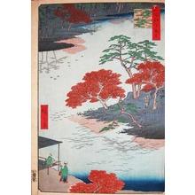 歌川広重: Inside Akiba Shrine, Ukeji - Ronin Gallery