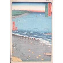 Utagawa Hiroshige: Kazusa. Yazashi ga Ura - Ronin Gallery