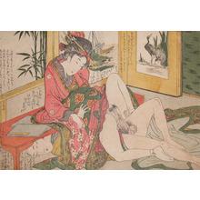 Kitagawa Utamaro: The Hidden Lover - Ronin Gallery