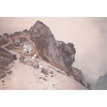 吉田博: Summit of Fuji - Ronin Gallery