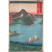 歌川広重: Echizen. Kebi no Matsubara at Tsuruga - Ronin Gallery