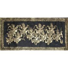 無款: Golden Apsarasas - Ronin Gallery