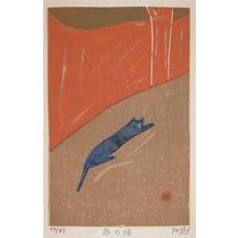 Gashu: Cat in the Garden - Ronin Gallery