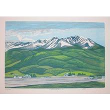 Hagiwara, Tsuneyoshi: Tokachi Alps - 6 - Ronin Gallery