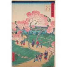 Utagawa Hiroshige II: Full Blossoms at Mukojima - Ronin Gallery