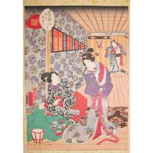 二代歌川国貞: Kiritsubo - Ronin Gallery