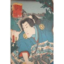 Utagawa Kunisada: Matsuwaka at Yoshida - Ronin Gallery
