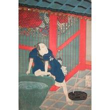 Hokuei: Kabuki Actor at the Nio Gate - Ronin Gallery
