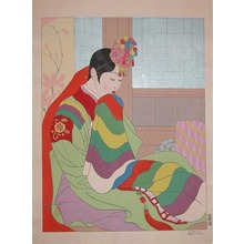 Paul Jacoulet: La Marlee. Seoul Coree - Ronin Gallery