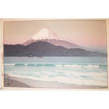 吉田博: Fujiyama from Miho - Ronin Gallery