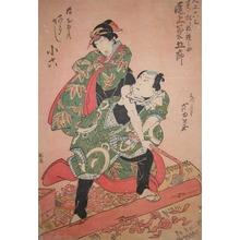 芦幸: Onoe Kikugoro and Arashi Koroku - Ronin Gallery