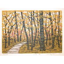 Fujita: Mountain Path, Autumn - Ronin Gallery
