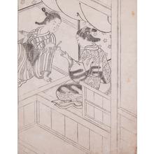 Nishikawa Sukenobu: Music - Ronin Gallery