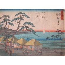 Utagawa Hiroshige: Kanagawa - Ronin Gallery