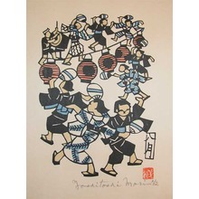 森義利: August; Obon Dance - Ronin Gallery