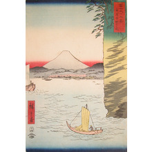 歌川広重: Honmoku, Musashi - Ronin Gallery