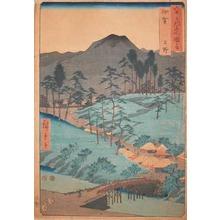 歌川広重: Iga Province - Ronin Gallery