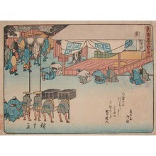 Utagawa Hiroshige: Seki - Ronin Gallery