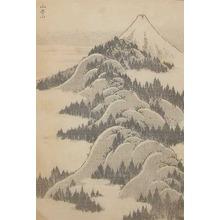 Katsushika Hokusai: Mountains Upon Mountains - Ronin Gallery