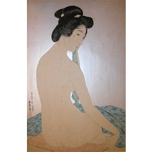 橋口五葉: Woman After the Bath - Ronin Gallery