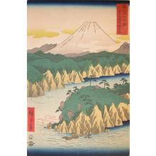歌川広重: Hakone Lake - Ronin Gallery