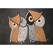 Kawano: Wise Owls - Ronin Gallery