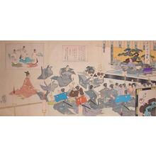 豊原周延: New Year's Greeting - Ronin Gallery
