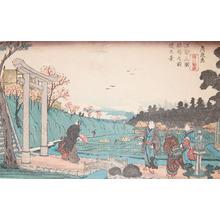 Keisai Eisen: Inari Shrine - Ronin Gallery