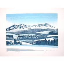 Hagiwara, Tsuneyoshi: Winter Mountains - Ronin Gallery