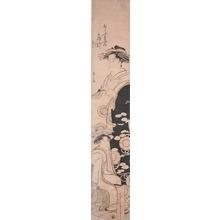 Eishi: The Courtesan Ogino from the House of Ogi - Ronin Gallery