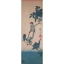 Utagawa Hiroshige: Tit on a Branch - Ronin Gallery