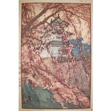 吉田博: Hirosaki Castle - Ronin Gallery