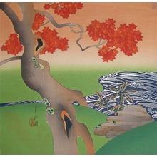 Gekko: Rapids and Maple Leaves - Ronin Gallery