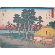 歌川広重: Fuchu - Ronin Gallery