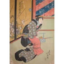 Hokuei: Kabuki Actor Iwai Shijaku - Ronin Gallery