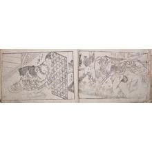西川祐信: Ehon: Enshoku Shin-Utamakura - Ronin Gallery