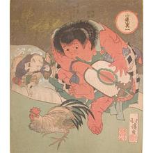 Totoya Hokkei: Kintaro - Ronin Gallery