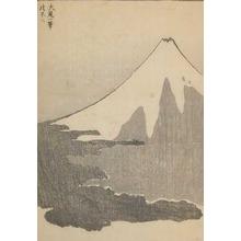 葛飾北斎: Fuji Concluded in One Stroke - Ronin Gallery