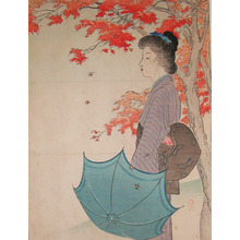 Takeuchi Keishu: Maple Leaves in Autumn - Ronin Gallery
