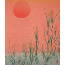 Tsukioka Kogyo: Barley Field - Ronin Gallery
