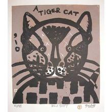 Gashu: Cat-Tiger - Ronin Gallery
